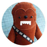 chewbacca toy pattern