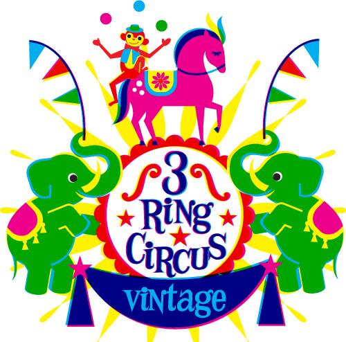 3 Ring Circus Vintage